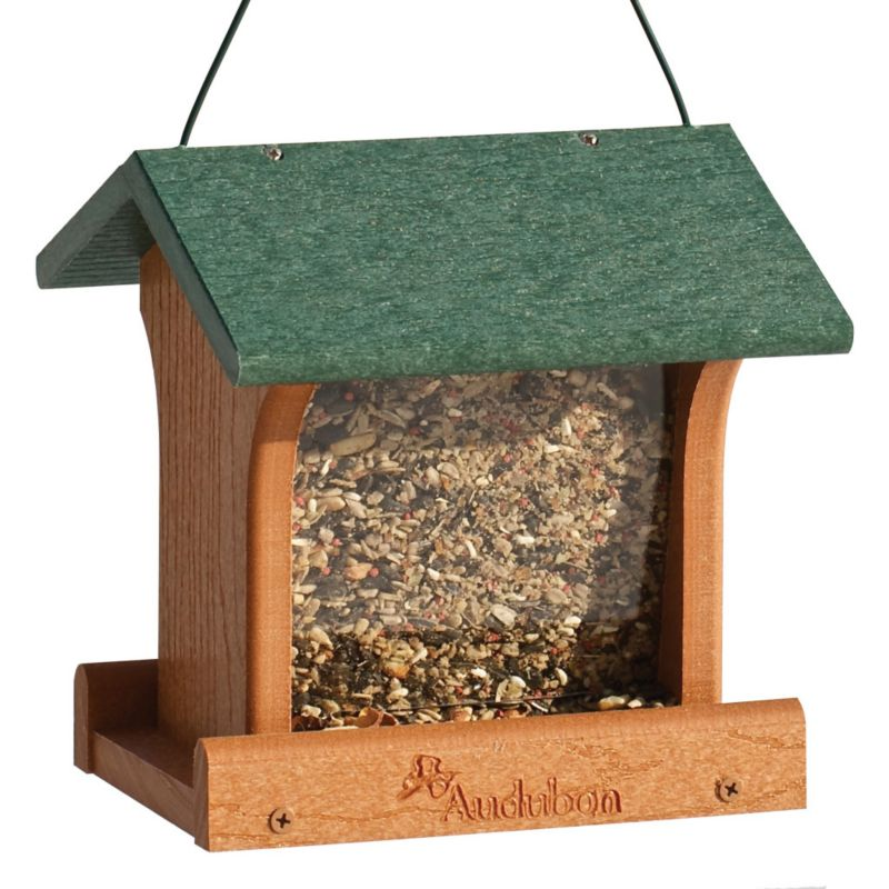 Woodlink Audubon Going Green Plstc Ranch Feeder (WLLNAGOGREEN1 715038307914 Wild Bird Supplies Bird Feeders) photo