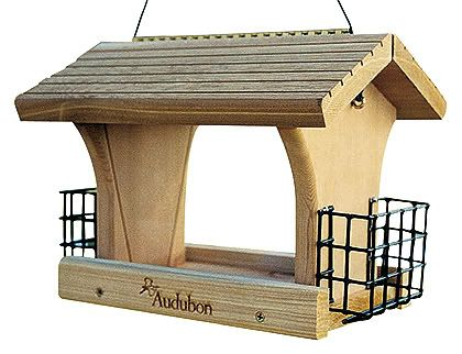 Woodlink Audubon Ranch Feeder With 2 Suet Cages (WLLNARANCH3 715038312994 Wild Bird Supplies Bird Feeders) photo