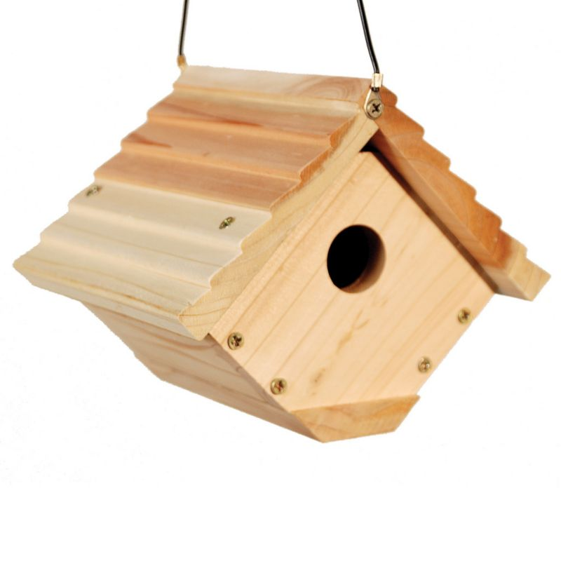 Woodlink Audubon Traditional Wren House (WLLNAWREN 715038306580 Wild Bird Supplies Bird Houses) photo