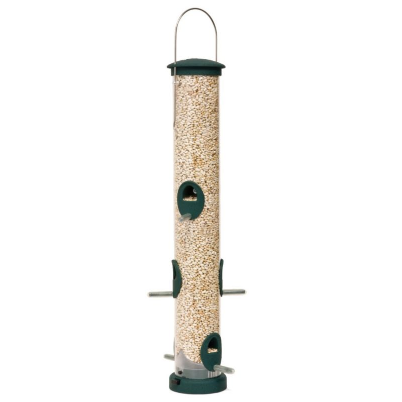 Aspects Spruce Quick Clean Tube Seed Feeder Medium