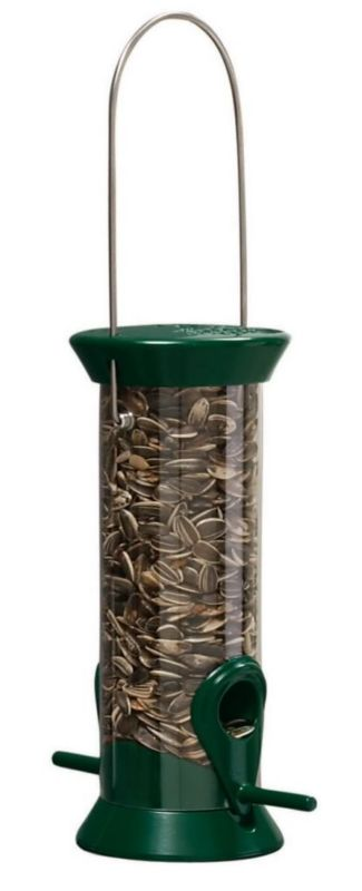 Droll Yankees Sunflower Tube Feeder 23In (DROCJM23G 021964400606 Wild Bird Supplies Bird Feeders) photo