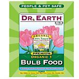 Dr Earth 4 lbs Organic 1 Bulb Fetilzer In Poly Bag