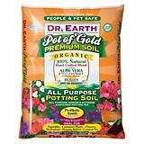 Dr Earth 1-1/2CF Pro Biotic Pot Gold Potting Soil