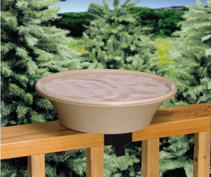 API Non Heated Bird Bath W/ Ez Tilt Deck Mount