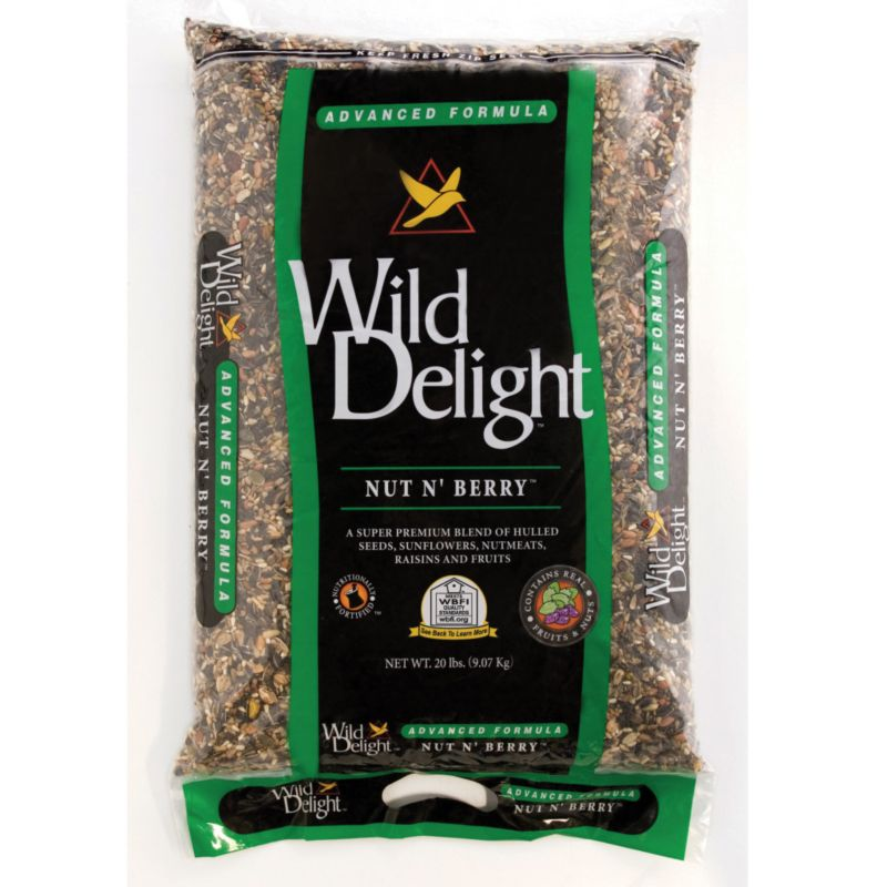 Wild Delight Nut N Berry 20 lb (DDC366200 719195366203 Wild Bird Supplies Bird Food) photo