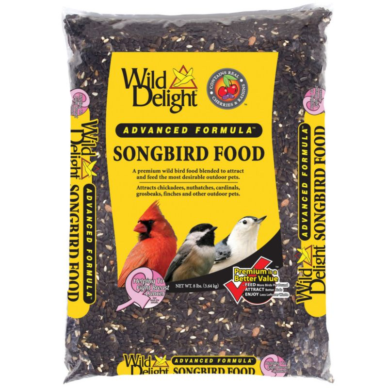 Wild Delight 8 lbs Songbird Food (DDC377080 719195377087 Wild Bird Supplies) photo