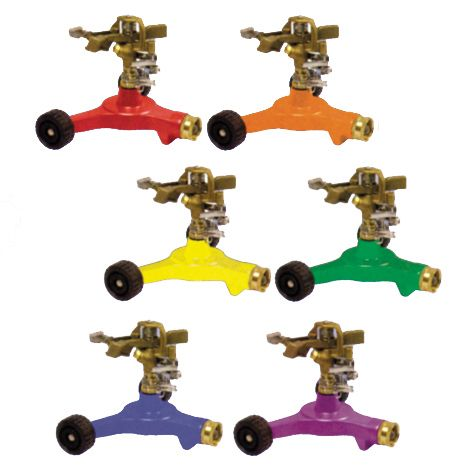 Dramm Colorstorm Impulse Sprinkler W/ Wheeled Base