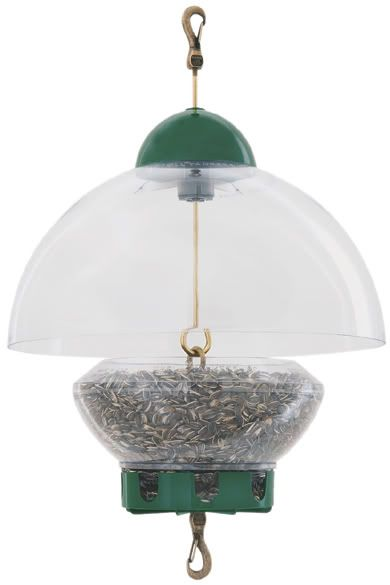 Droll Yankees Green Big Top Feeder (DROBTG 021964103057 Wild Bird Supplies Bird Feeders) photo