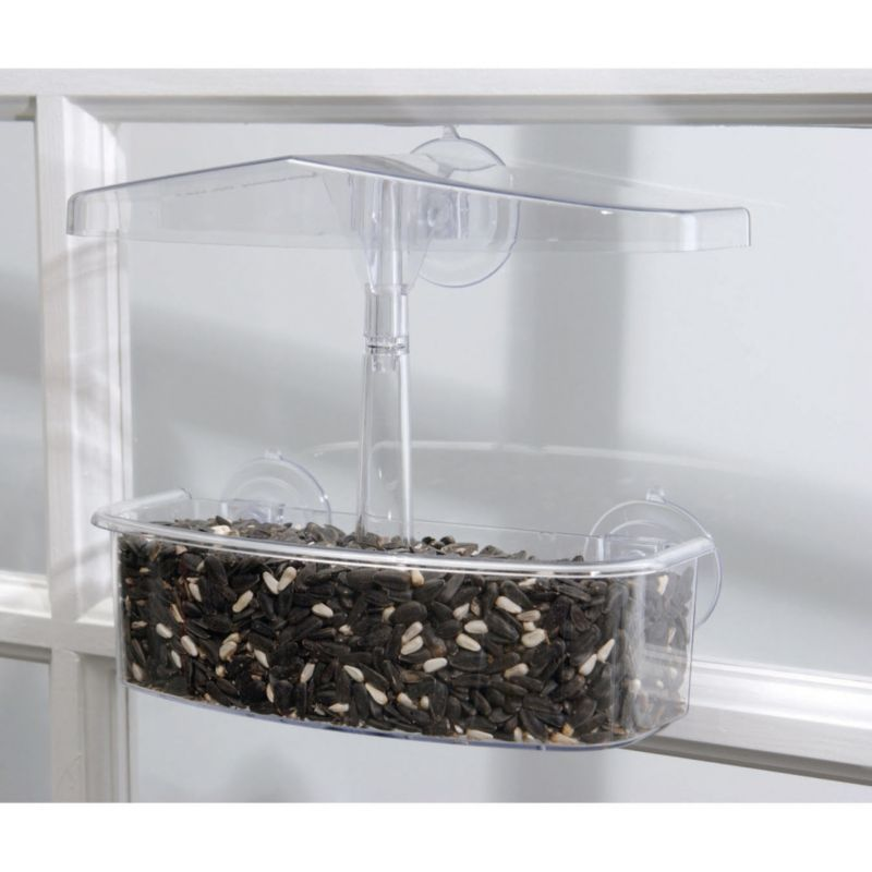 Droll Yankee Observer Wndow Feeder (DROOWF 021964103705 Wild Bird Supplies Bird Feeders) photo