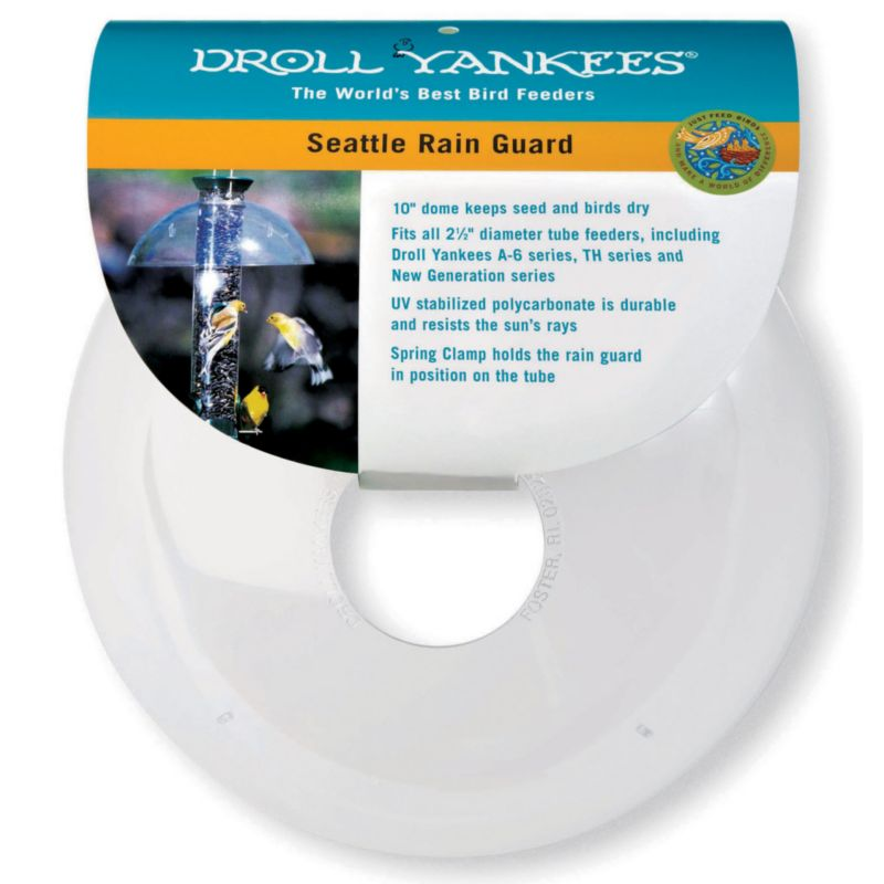 Droll Yankee Seattle Rain Guard Dome (DROSRG 021964103200 Wild Bird Supplies Bird Feeders) photo