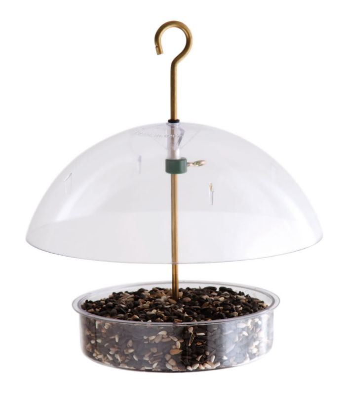 Droll Yankees Seed Saver Domed Feeder (DROX1 021964103507 Wild Bird Supplies Bird Feeders) photo
