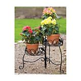 Scroll And Ivy 3 Tiered Folding Plant Stand