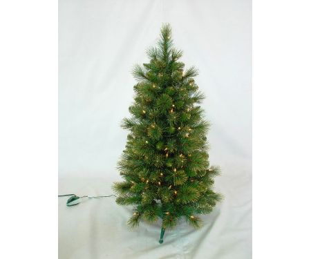 Golden Hills Pine Pre-Lit 100 Clear Tree