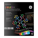 48 Light LED Color Effects Snowflake