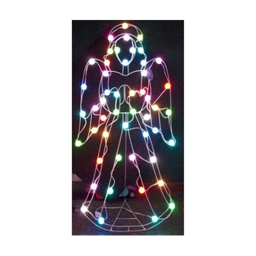50 Light LED Color Changing Angel