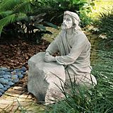 Jesus In The Garden Of Gethsemane Sculpture