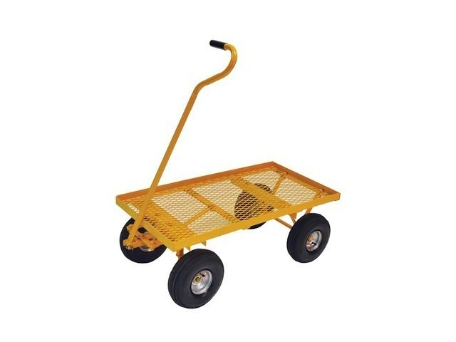 Nursery Cart With Pneumatic Tires