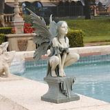 Celtic Fairys Perilous Perch Garden Statue