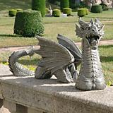 The Dragon of Falkenberg Castle Moat Lawn Statue
