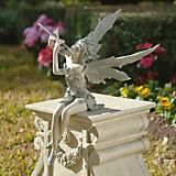 Fairy Of The West Wind Sitting Garden Statue