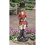 Tally Ho Equestrian Fox Hunt Garden Statue