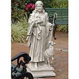 Jesus The Good Shepherd Garden Statue Large