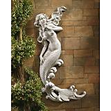 Mermaid Of Langelinie Cove Wall Sculpture