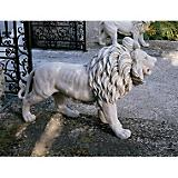 Regal Lion Of Grisham Manor Statue