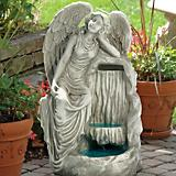 Resting Grace Angel Sculptural Fountain