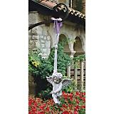 Hanging Angelic Play Large Garden Statue