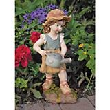 Farmer Frank Little Boy Garden Statue