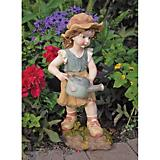 Farmer Fanny Little Girl Garden Statue