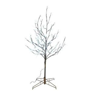 Artificial Tree W/ PVC Blossom N Willow Leaves 4Ft