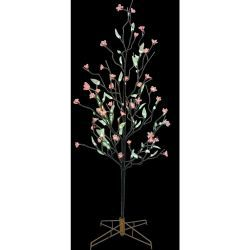 LED Artificial Tree W/ PVC Blossom N Willow Leaves