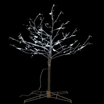 Indoor LED 90 White Light Artifical Tree 5Ft