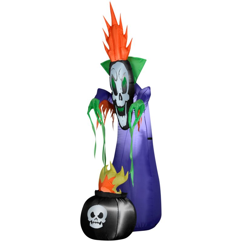 Haunting Reaper With Cauldron