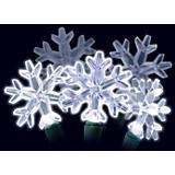 Snowflake Light Set 30Lt Led