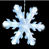 Snowflake Icicle Lt 3Ct 9In Led