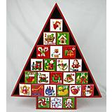 Home Bazaar Christmas Tree Advent Calendar