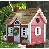 Home Bazaar Christmas Cape Cottage Birdhouse