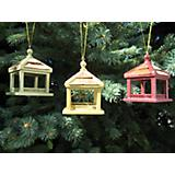 Dream House Feeder Ornament Set Multi Color
