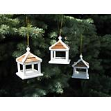 Dream House Feeder Ornament Set White