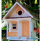 Home Bazaar Peaches N Cream Cottage Birdhouse