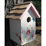 Home Bazaar Printed Standard Birdhouse Bouquet