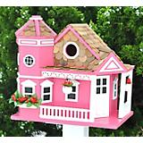 HomeBazaar Sea Cliff Cottage Birdhouse Honeysuckle