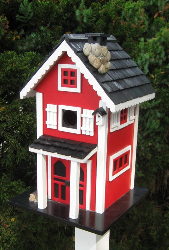 Home Bazaar Cottage Charmer Glen Ridge Bird House (HOME BAZAAR INC CC-2018S 812673014181 Wild Bird Supplies Bird Houses) photo