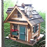 Home Bazaar Rustic Retreat Bird Feeder
