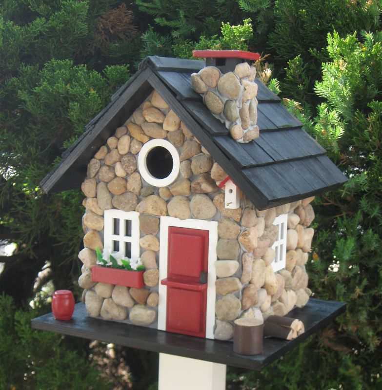 Home Bazaar Cottage Charmer Windy Ridge Bird House (HOME BAZAAR INC CC-2024 812673014129 Wild Bird Supplies Bird Houses) photo