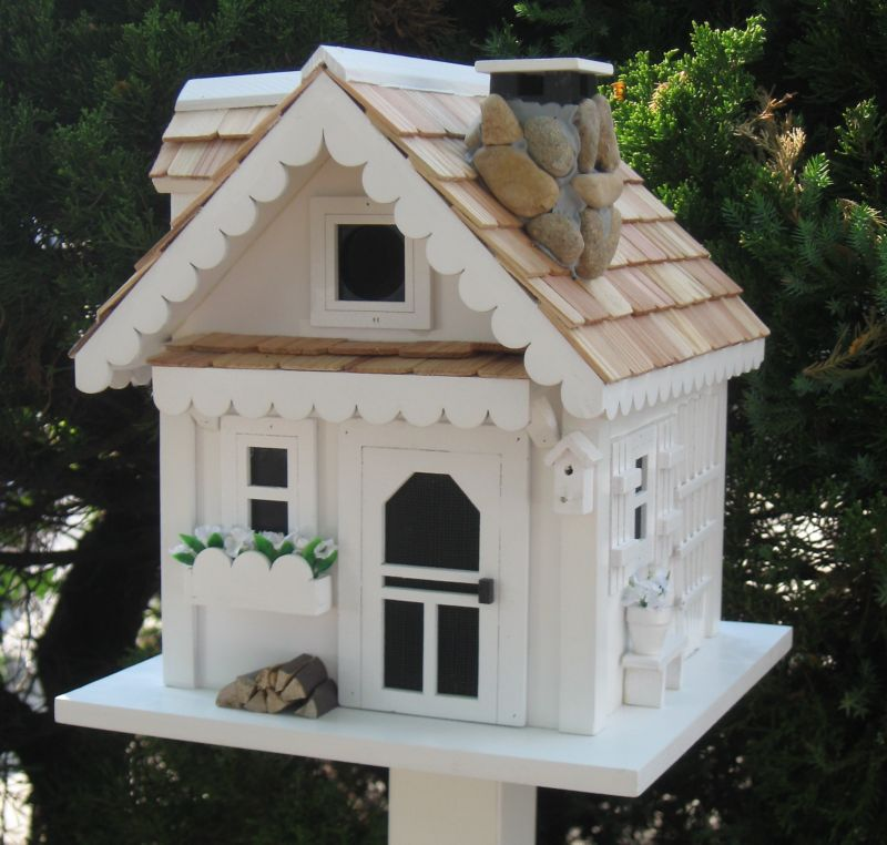 Home Bazaar Cottage Charmer Tranquility Bird House (HOME BAZAAR INC CC-2040 812673014143 Wild Bird Supplies Bird Houses) photo