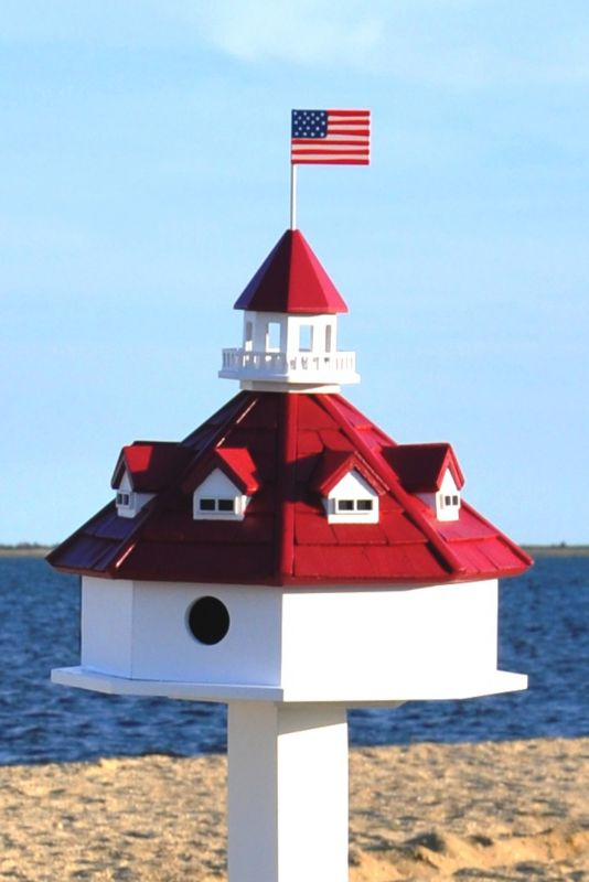 Home Bazaar Annapolis Lighthouse Bird House (HOME BAZAAR INC HB-9069 812673012668 Wild Bird Supplies Bird Houses) photo